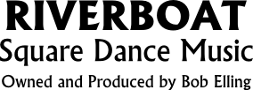Riverboat Square Dance Music logo text